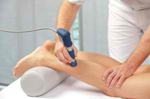 Shockwave treatment of Achilles Tendinitis