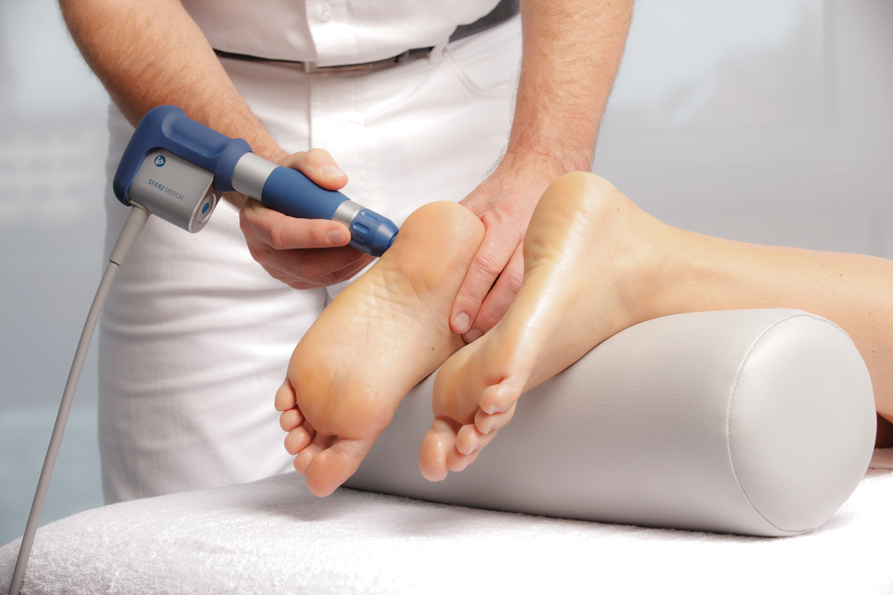 Plantar Fasciitis Shockwave with Storz Medical ESWT