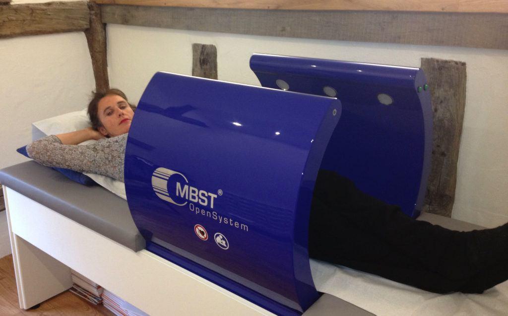 Patient having MRT