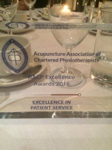 Excellence in Service Award