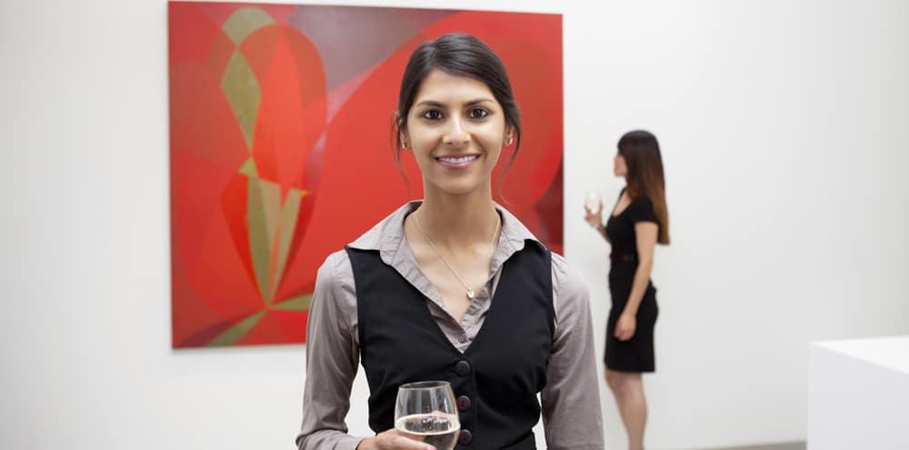 event management women smiling